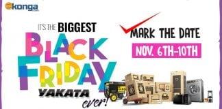 Konga black friday yakata