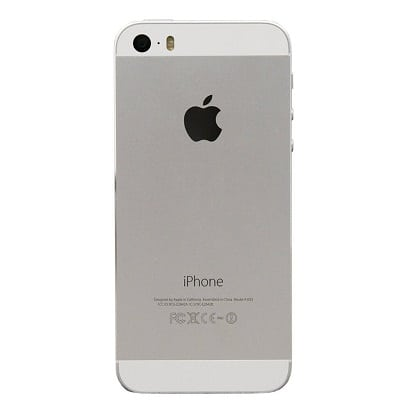 iPhone 5S Silver Back
