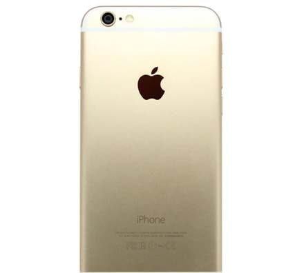Apple iPhone 6 Plus Gold Back