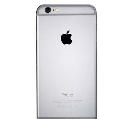 Apple iPhone 6 Plus Gray Back