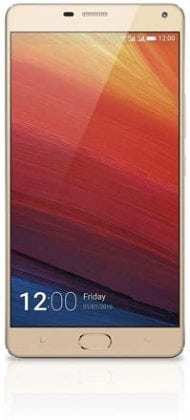 Gionee Marathon M5 Champagne front screen