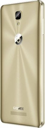 Gionee P8 max back slide gold