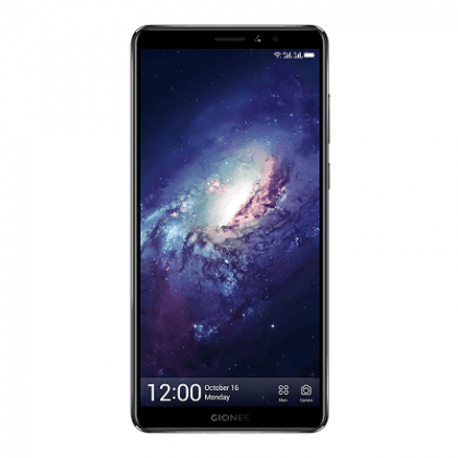 Gionee m7 power black front