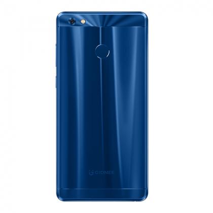 Gionee m7 power blue back