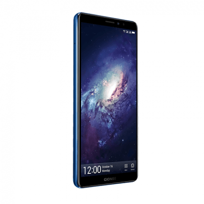 Gionee m7 power blue front