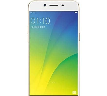 Oppo R9s Gold Front Screen