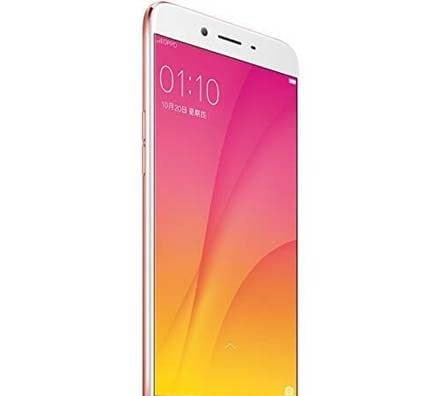 Oppo R9s Plus Rose Gold Slide Front