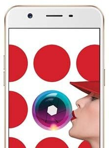 Oppo a57 Gold Front
