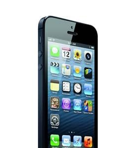 iPhone 5 Black Slide