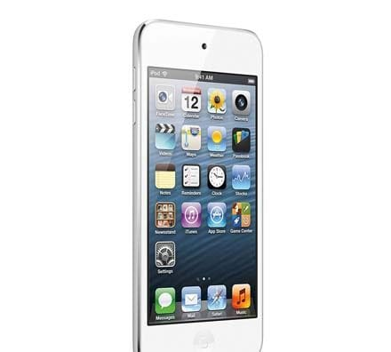 iPhone 5 White Slide