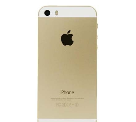 iPhone 5S Gold Back