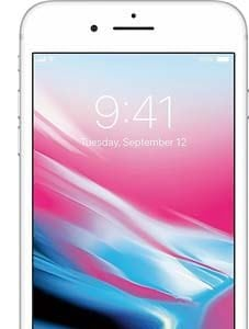 iPhone 8 Plus silver back