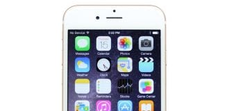 Apple iPhone 6 Plus Gold Front Screen