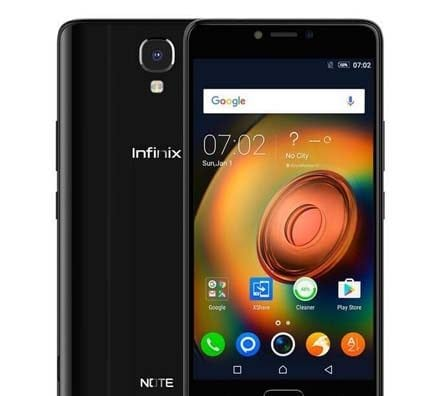 Infinix Note 4 black