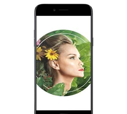 Oppo A77 MediaTek model Black Front Screen