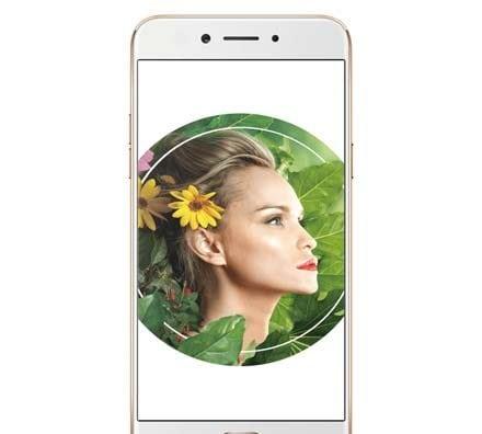 Oppo A77 MediaTek model Gold Front Screen
