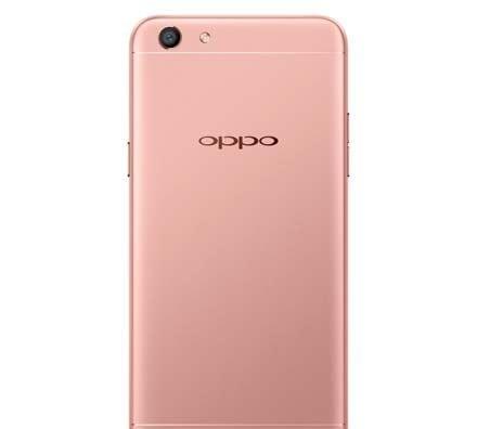 Oppo A77 MediaTek model Rose Gold Back