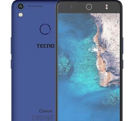 Tecno Camon Cx Air blue