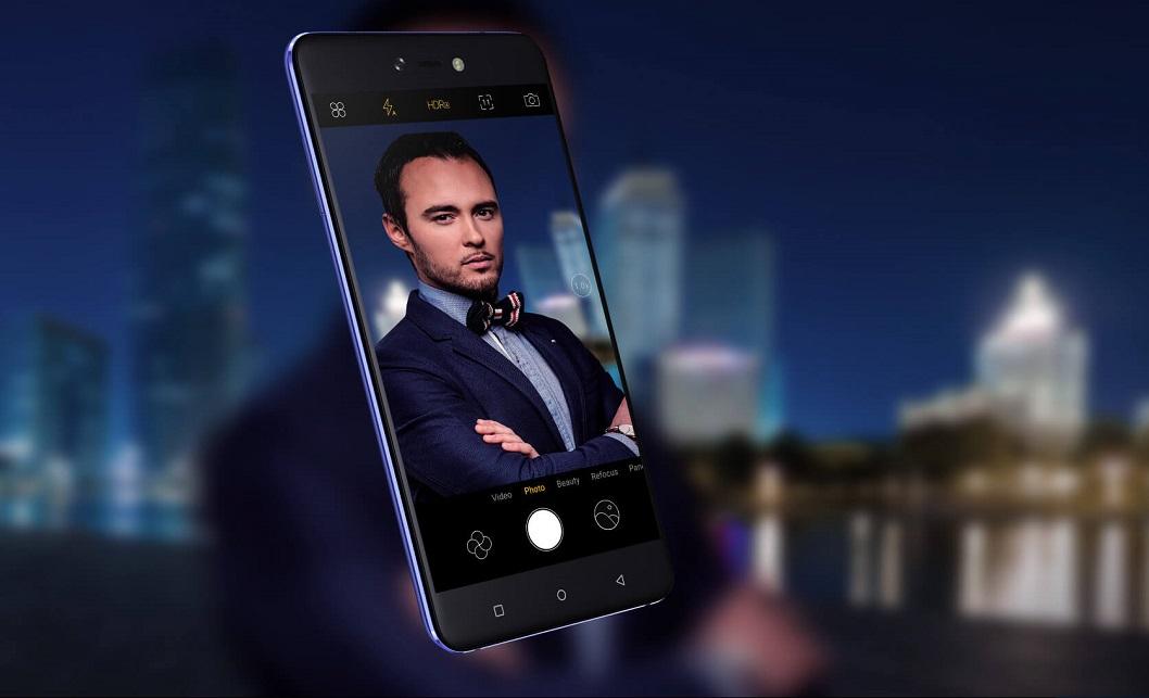 Tecno Phantom 8 Phone and it's Diamond Fire Design   Sonaija
