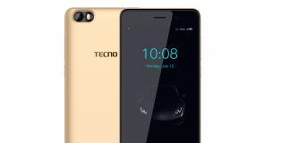 Tecno F1 gold Featured