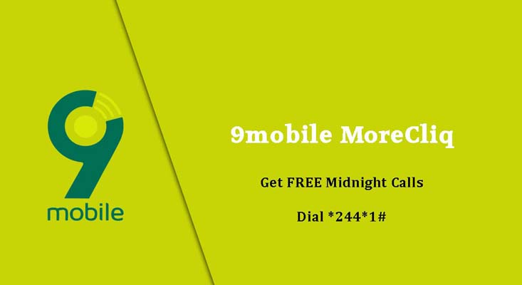 9mobile Images - 9mobile MoreCliQ Free midnight calls