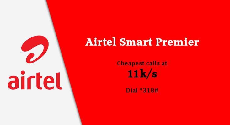 Airtel Images - Cheapest calls at 11k per second smart premier