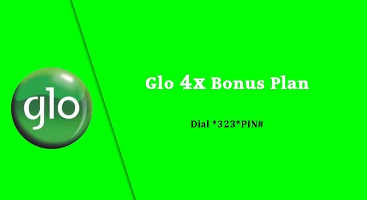 Globacom images - Glo 4x bonus plan pack