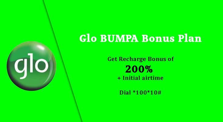 Globacom images - Glo Bumpa Bonus Plan at 200 percent