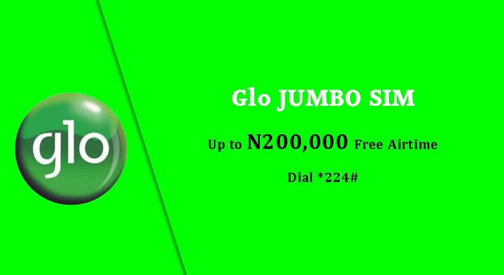 Globacom images - Glo Jumbo SIM up to N200000 free airtime
