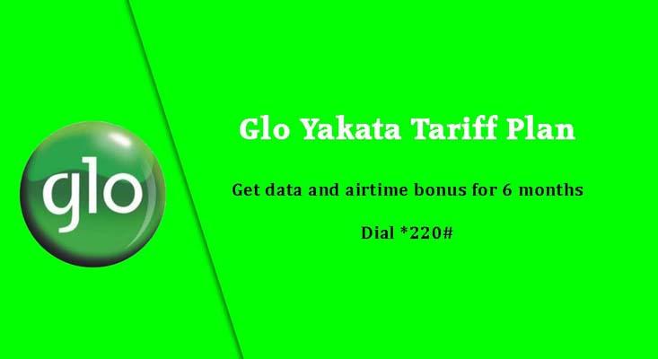 Globacom images - Yakata Tariff Plan for airtime and data bonus